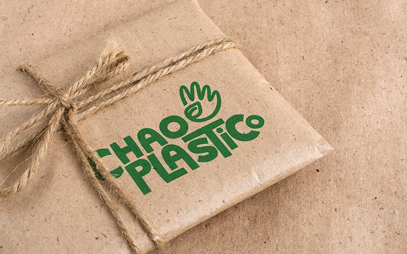 logo mockup chao - Chao Plástico